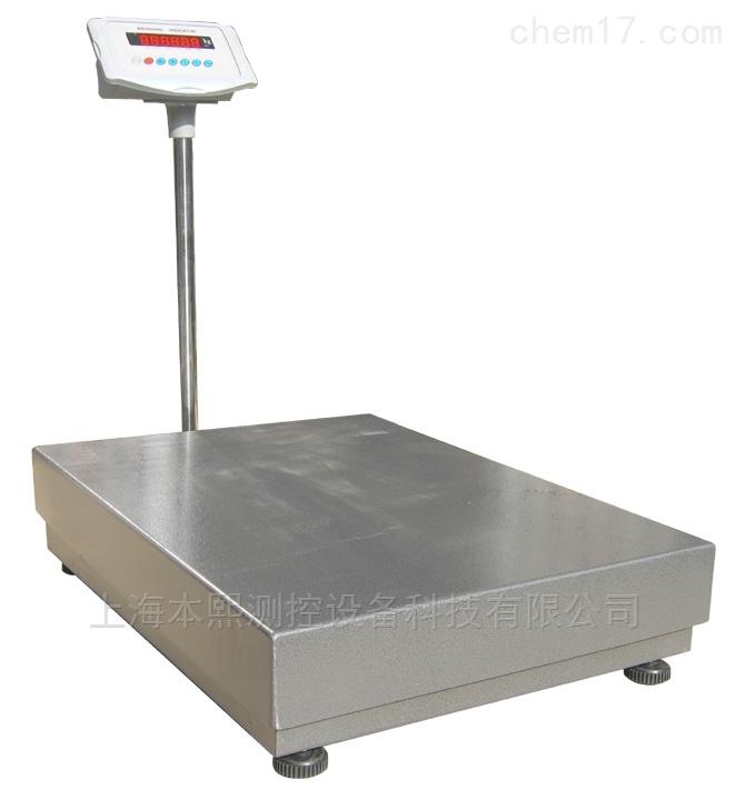 不锈钢大台面计重电子台秤300kg