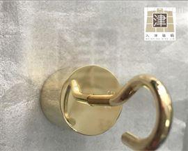 M1定做带钩子的铜法码-黄铜砝码100g200g500g