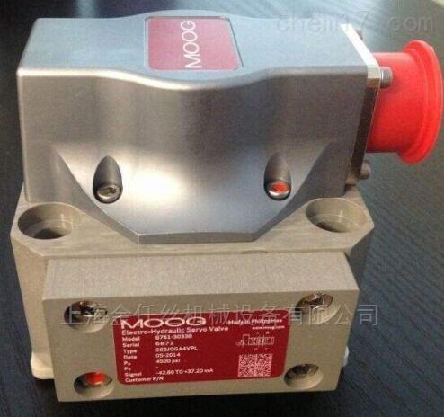 MOOG伺服比例控制阀D664系列价格优惠