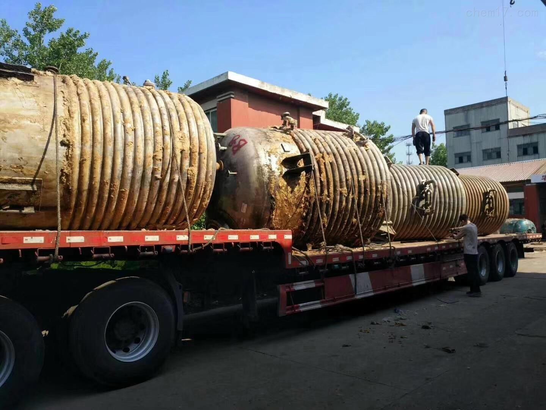 25吨的不锈钢反应釜二手25吨的不锈钢反应釜回收咨询