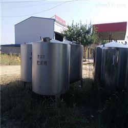 二手不锈钢真空10吨乳品发酵罐