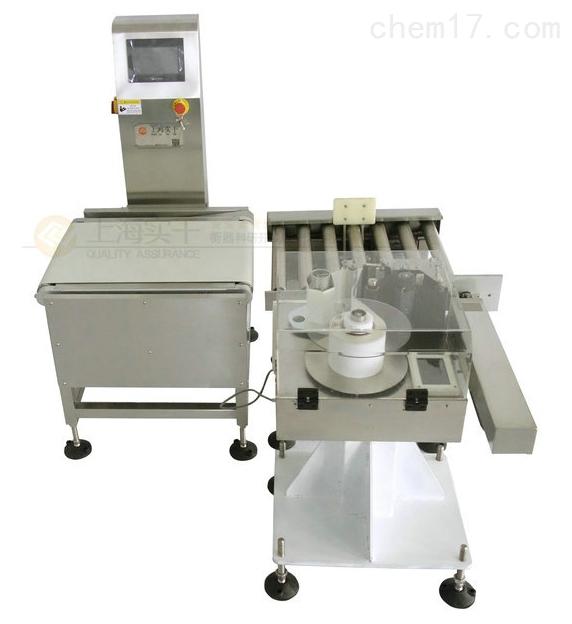 高速称重贴标机生产厂家 称重打印贴标设备