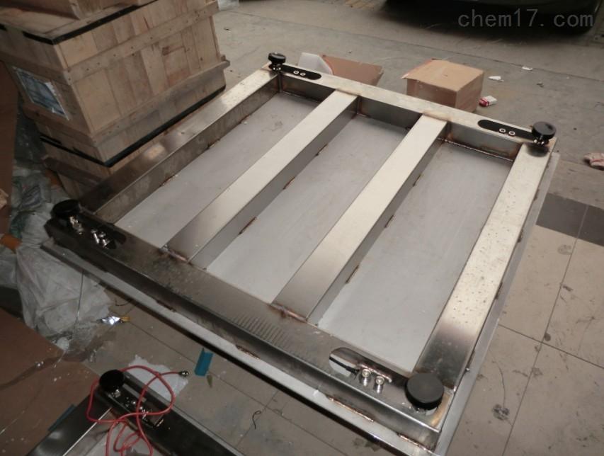 3吨不锈钢电子地磅(防腐性能强)
