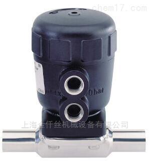 burkert气动隔膜阀产品说明