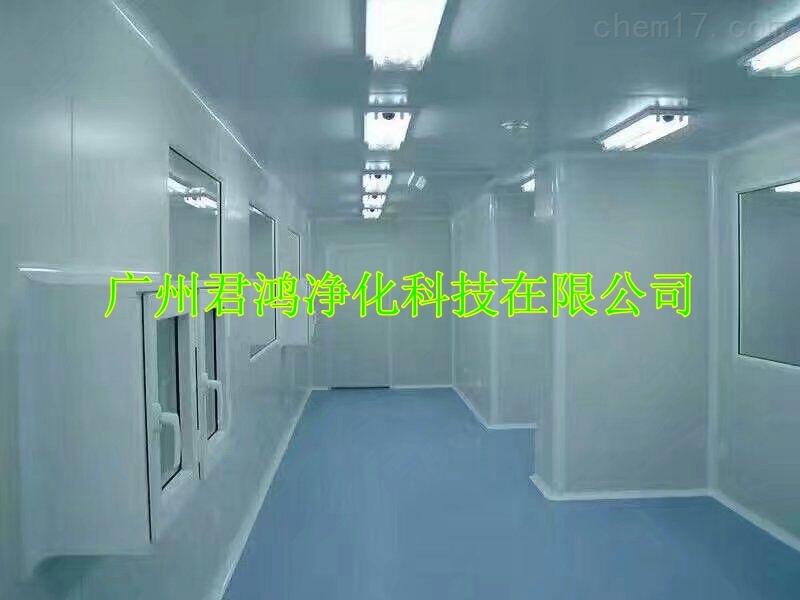广州某食品厂净化车间装修工程30-10万级