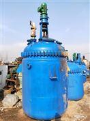 5吨低价出售二手5吨搪瓷反应釜