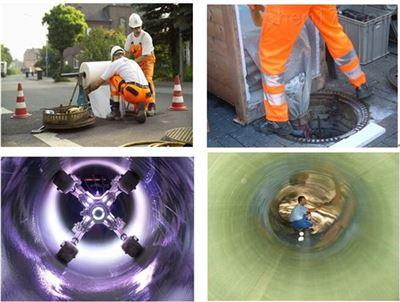 机械制螺旋管管道非开挖内衬整体修复