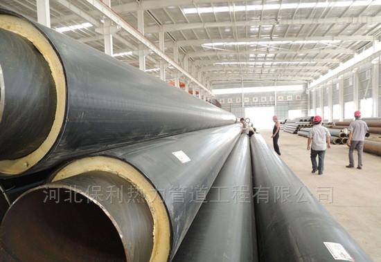 高品质直埋热水管道,聚氨酯保温管厂家价格