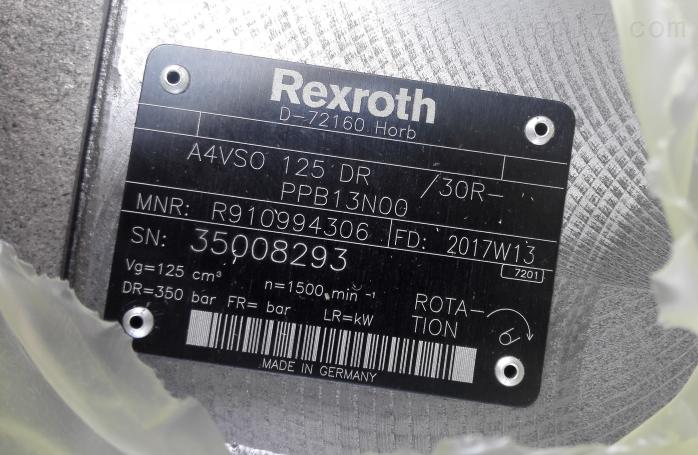 Rexroth轴向柱塞变量泵上海现货