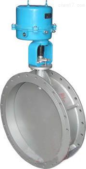 ZDRW-电子式电动调节蝶阀