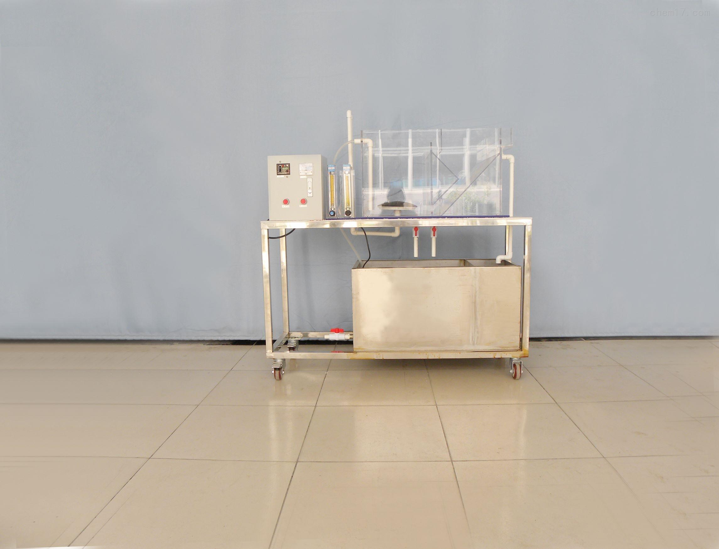 矩形合建式曝气沉淀池实验装置