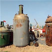 大量回收二手不锈钢反应釜价格