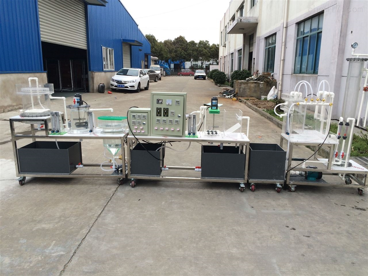 工业废水处理流程模拟实验装置(自动控制)
