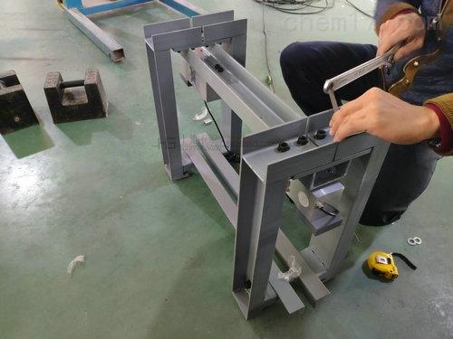 不锈钢称重打印轨道秤,定制链条轨道电子称