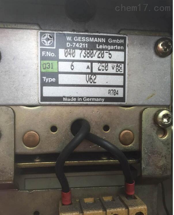 德国杰斯曼主令控制器V62起重机多用型