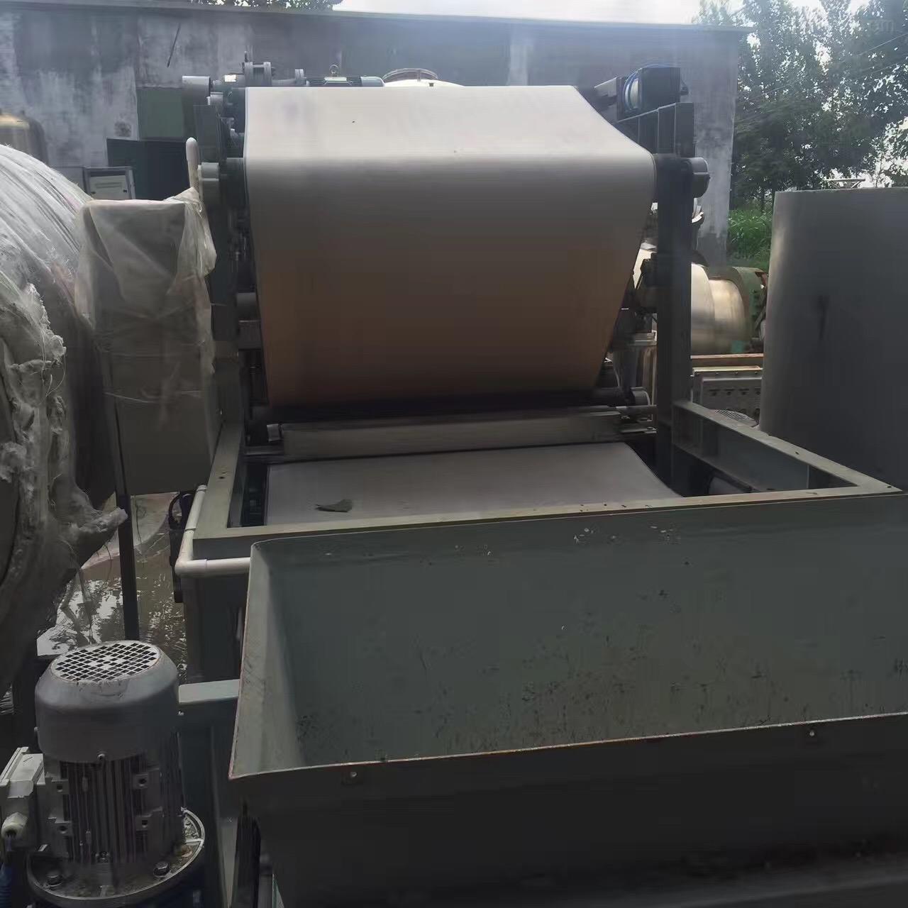 2500型带式压榨过滤机二手2500型带式压榨过滤机回收进行中