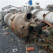 长期出售二手15吨不锈钢反应釜