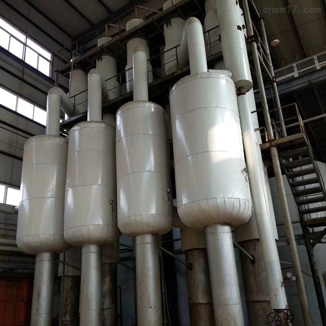 回收三效5吨蒸发器回收二手三效5吨蒸发器惊人价格