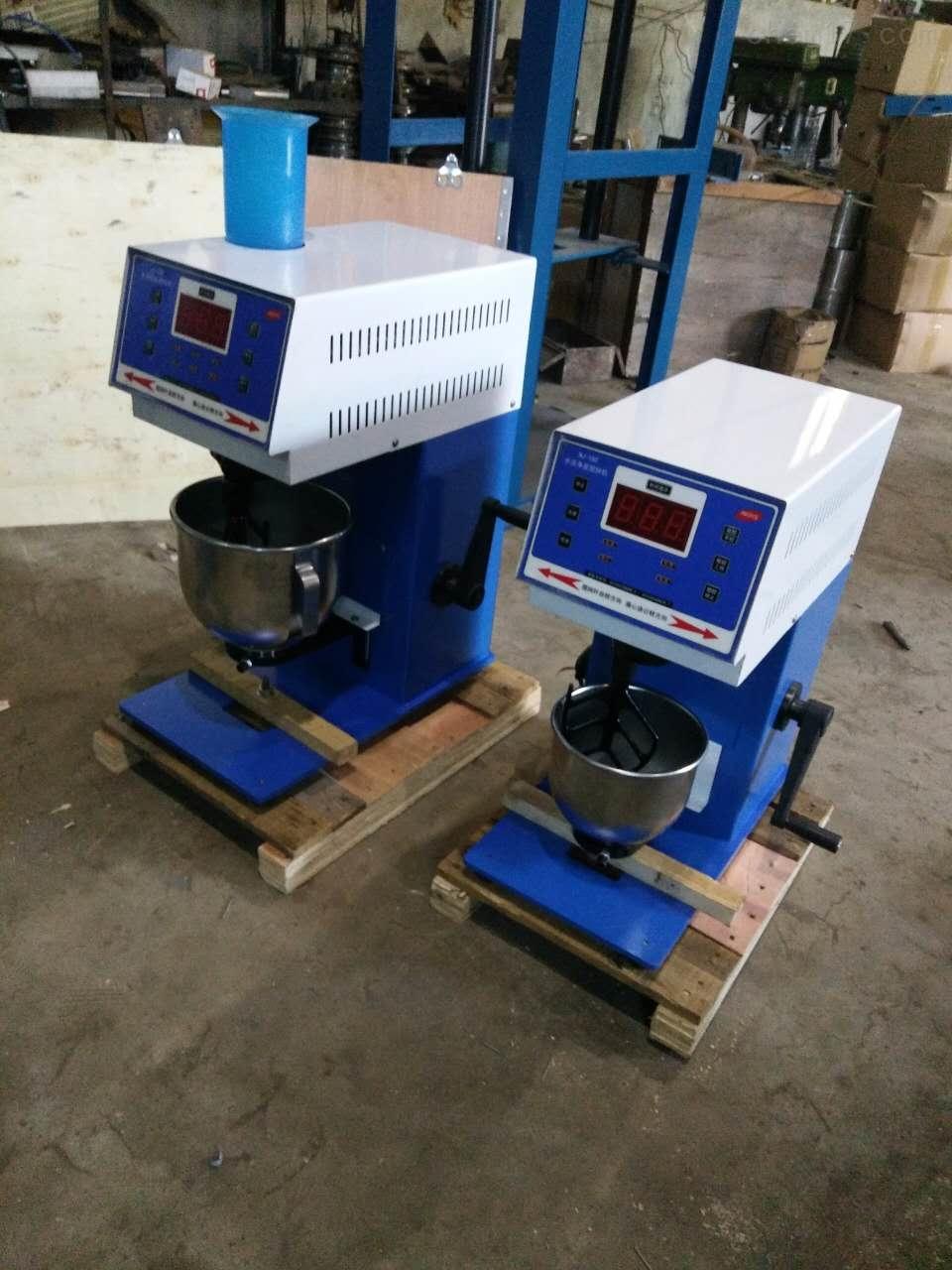 专业生产新标准水泥净浆搅拌机