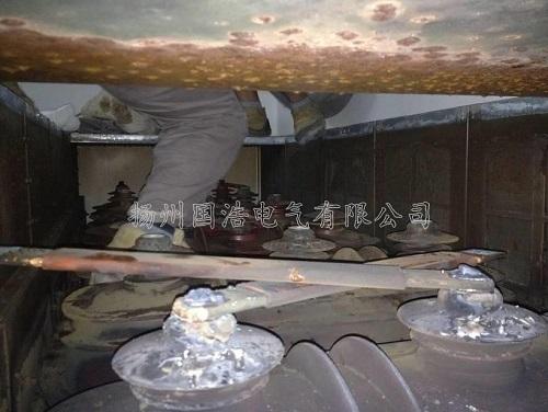 开关柜长期运行在高粉尘强腐蚀的环境下