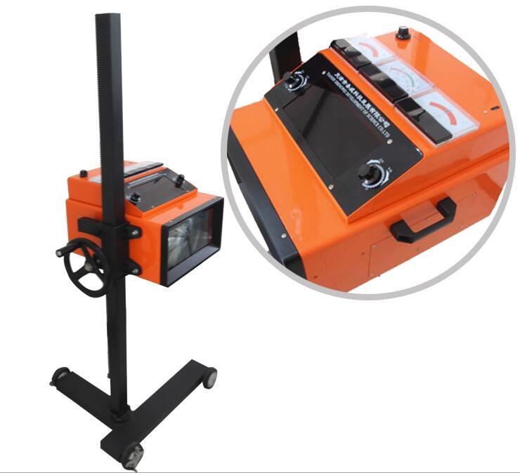 sv-d1t汽车大灯检测仪特点 ■同时检测机动车前照灯的发光强度及