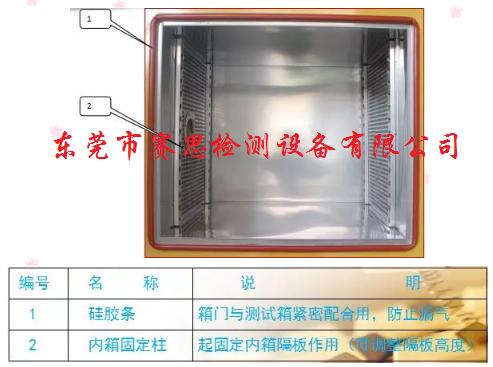 冷热冲击试验箱的基本功能与构造