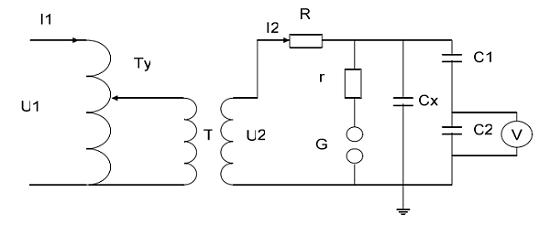 工频耐压实验原理图