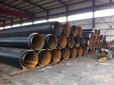 塑套钢直埋式聚氨酯保温管