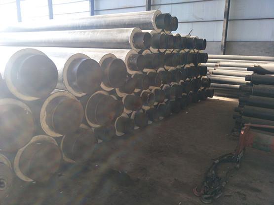 塑套钢地埋式钢管保温
