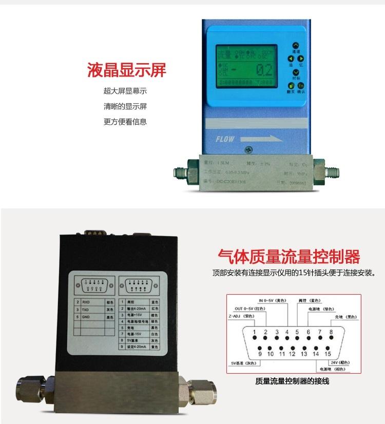 真空氮气流量控制器用于对各种气体的质量流量进行精密测量和控制,大量用于电子工艺设备(如扩散、氧化、外延、CVD、等离子刻蚀、溅射等)以及镀膜设备、光导纤维制造中;并广泛化工化纤,实验室应用等各个领域。真空集热管镀膜机推广应用新技术———双路质量流量控制器在太阳能真空集热管选择性吸收涂层铝靶磁控溅射镀制工艺中,曾经采用自动压强控制器引入氩气,质量流量控制器引入反应性气体氮。真空氮气流量控制器经过长期的生产实践发现,自动压强控制器中有几个不稳定的因素:一是压电阀中的压电陶瓷