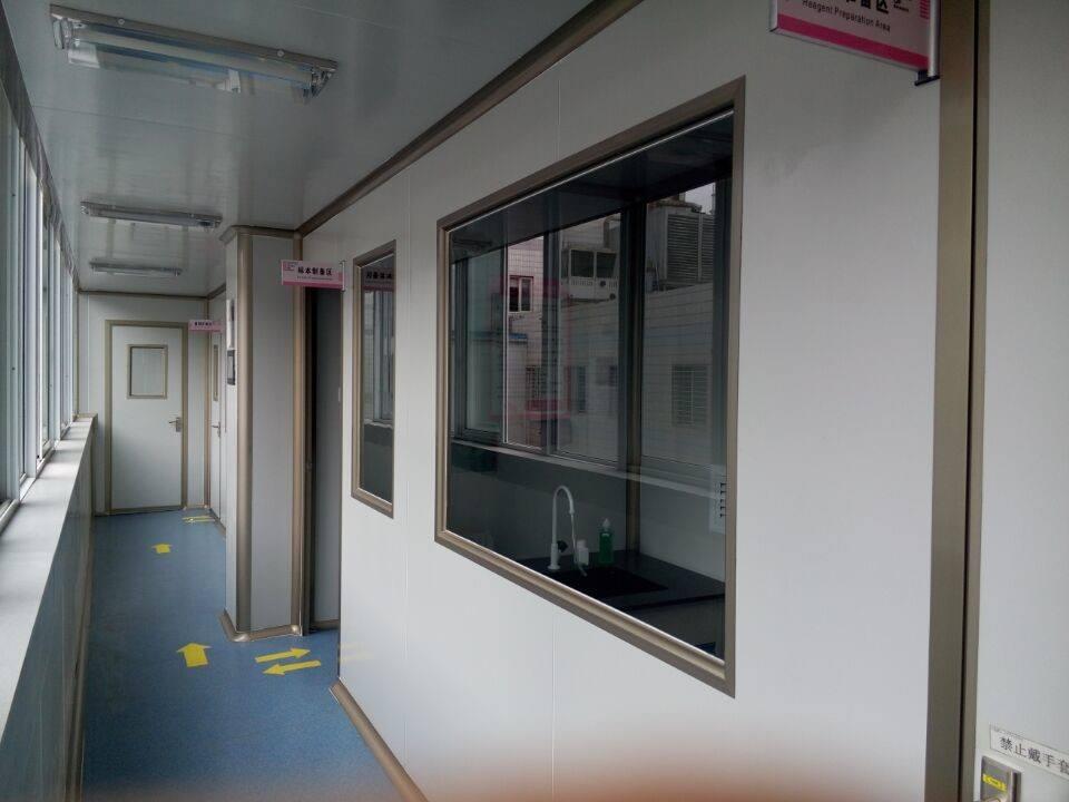 PCR实验室_广州环扬实验室_实验室家具厂家_实验台_通风柜