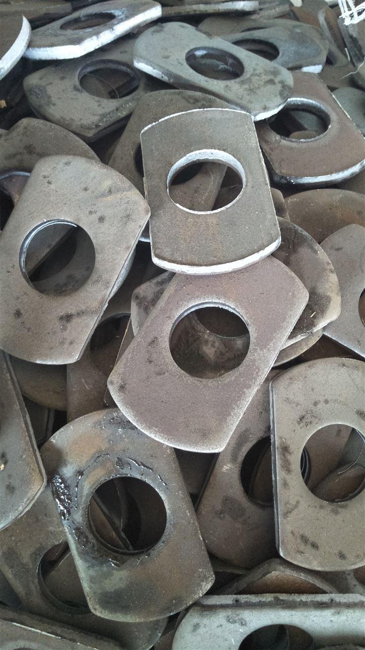 冲压碳钢法兰毛坯价格优质法兰盘毛坯批发厂家钢板法兰毛坯型号全