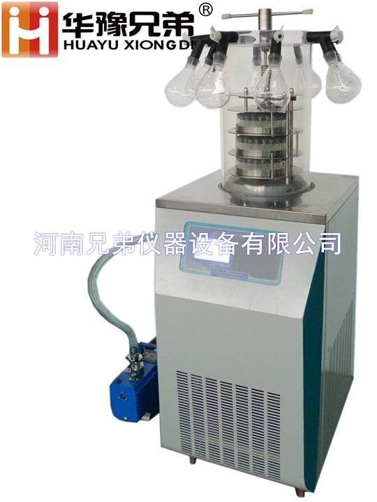 LGJ-18<strong><strong>多歧管压盖冻干机制药科研冷冻干燥机</strong></strong>