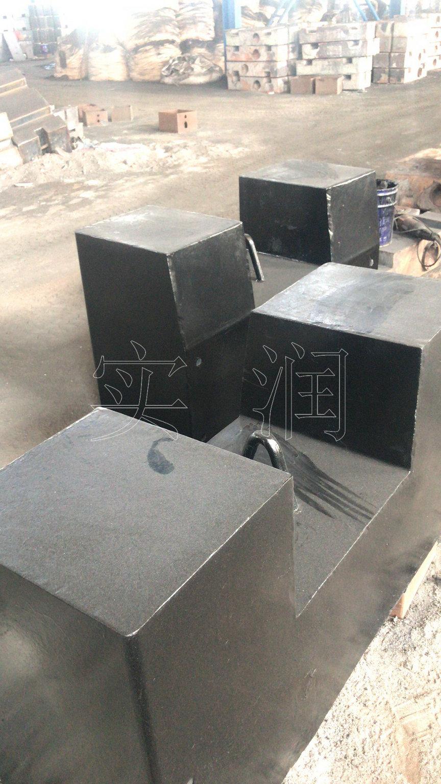 5吨铸铁配重块