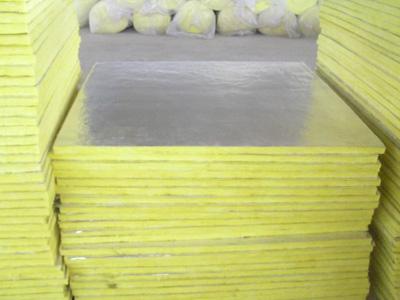 10k/10cm铝箔钢结构玻璃棉卷毡出厂价格