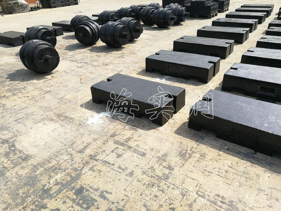 5吨铸铁配重砝码