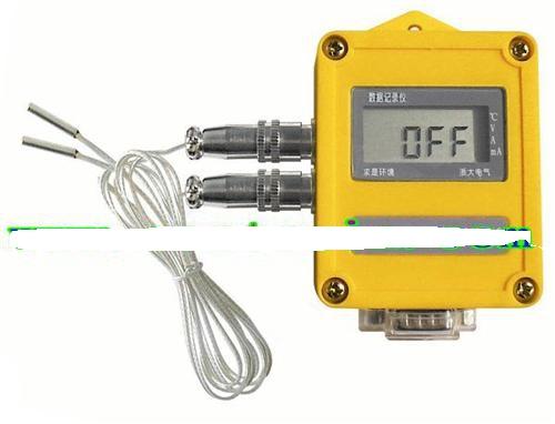 智能温度记录仪具有中,英文两种版本