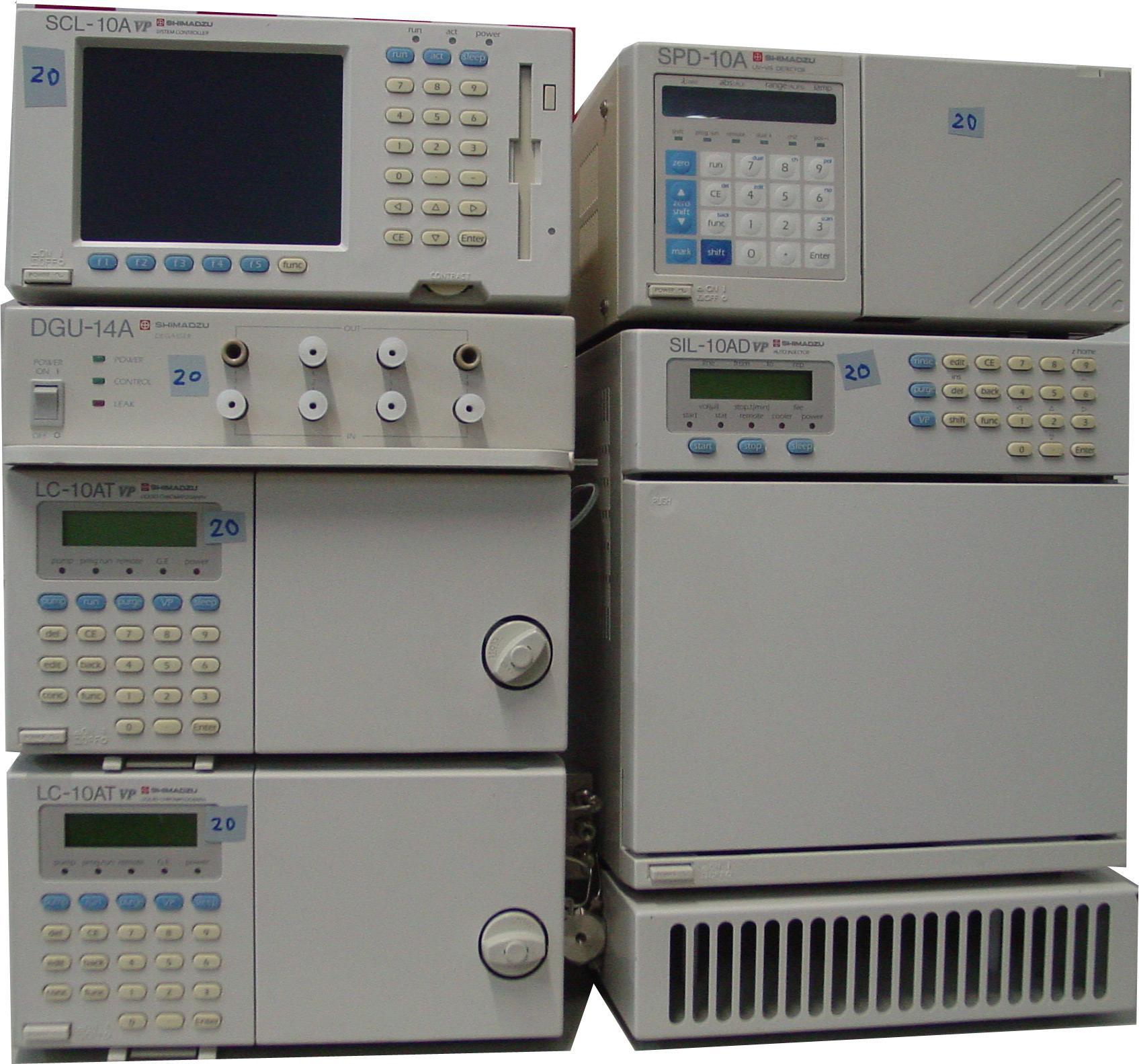 島津液相色譜儀LC-10ATVP