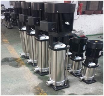 整體不銹鋼材質的QDL16-50泵
