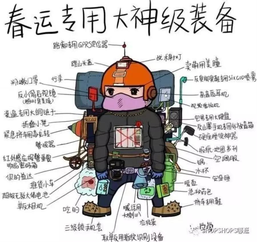 春节专用大神级装备